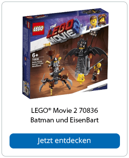 LEGO® Movie 2 70836 Batman und EisenBart