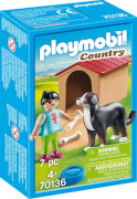 PLAYMOBIL 70136 Hofhund mit Hütte