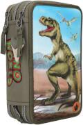 Depesche 10642 Dino World 3-fach Federtasche
