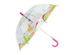 Regenschirm transparent Traumpferdchen